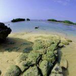 西表島の名所・星砂ビーチ