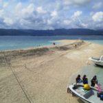 台風後のバラス島