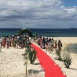 バラス島結婚式