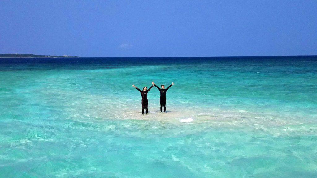 水没したバラス島