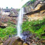 ピナイサーラの滝で撮影のお手伝い。