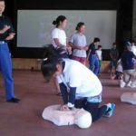 西表島カヌー組合、緊急時現場対応訓練