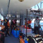 ダイビング組合&海上保安庁の合同訓練